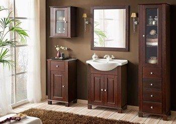 Drewniane meble łazienkowe Retro 65