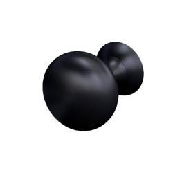 Oristo Uchwyt 3 cm MONTEBIANCO czarny mat