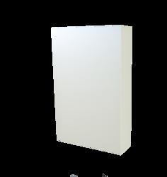 Szafka Scandic 840 z lustrem, biała 46 cm