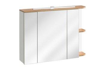 Szafka łazienkowa z lustrem 90 cm Platinum