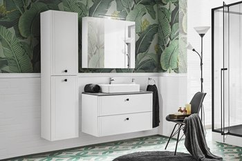 Zestaw mebli łazienkowych 100 cm Havana White