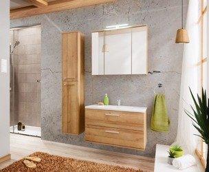 Zestaw mebli łazienkowych 80 cm Remik Riviera z szafką z lustrem