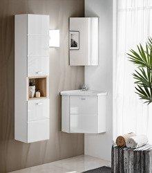 Zestaw mebli łazienkowych Finka White 40 cm