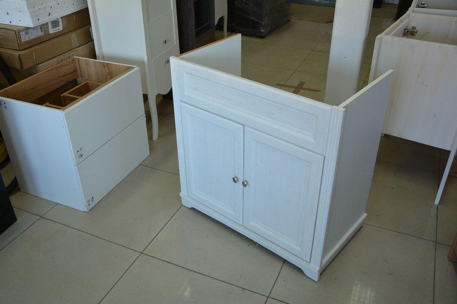 Biała szafka pod umywalkę 80 cm Palace Andersen [Outlet]