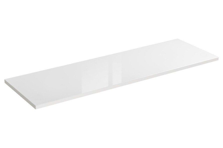 Blat 140 cm Capri 893 biały połysk