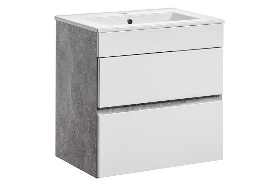 Komplet mebli łazienkowych Atelier 60 cm szuflady