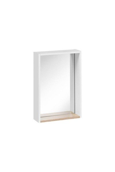 Lustro 40 cm Finka White