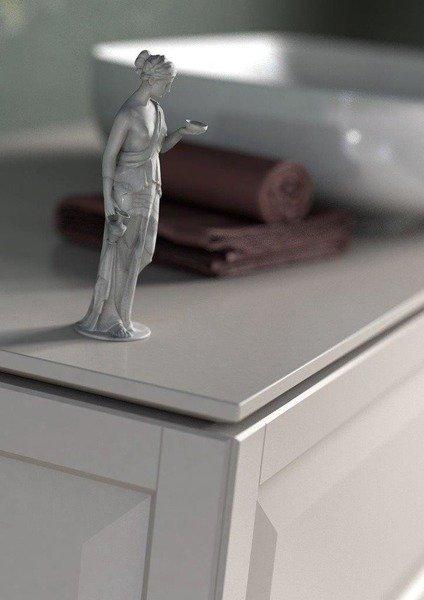 Oristo Nogi tylne 2 szt 15 cm z adapterem MONTEBIANCO białe