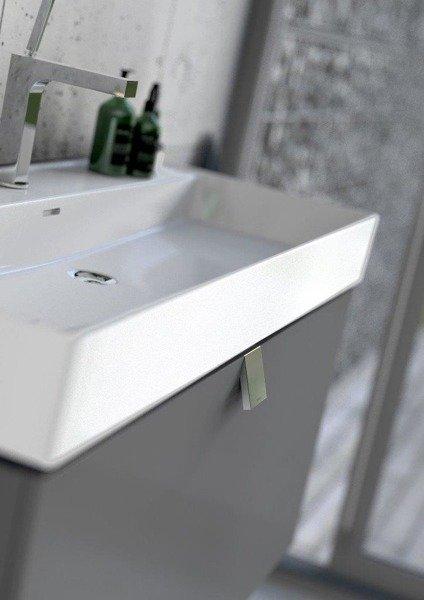 Oristo Szafka pod umywalkę 50 cm BOLD grafit połysk