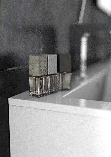 Oristo Szafka pod umywalkę 90 cm Silver szary mat