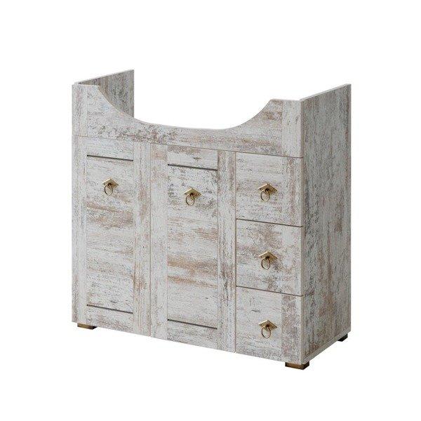 Prowansalska szafka pod umywalkę 85cm Prowansja