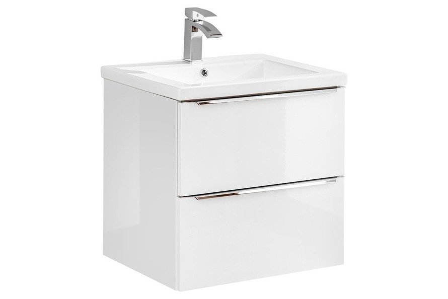 Szafka pod umywalkę 60 cm Capri biały 820