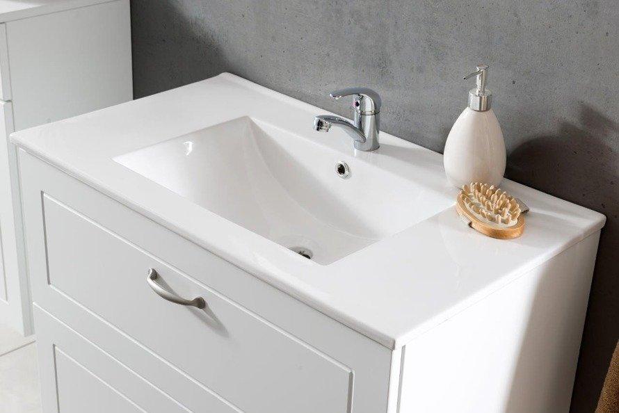 Szafka pod umywalkę 60 cm Sophia biały mat