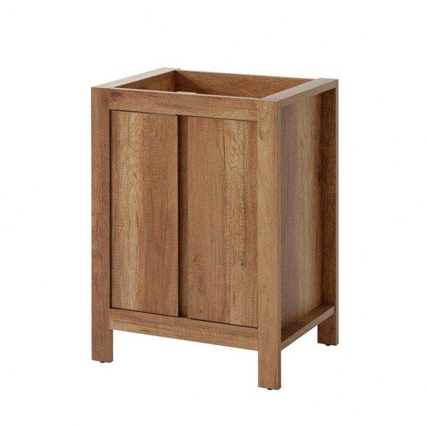 Szafka pod umywalkę Classic Oak 60 cm 2D