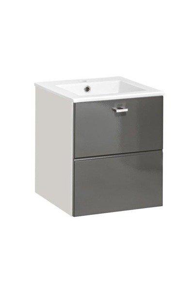 Szafka z umywalką 40 cm Finka Grey