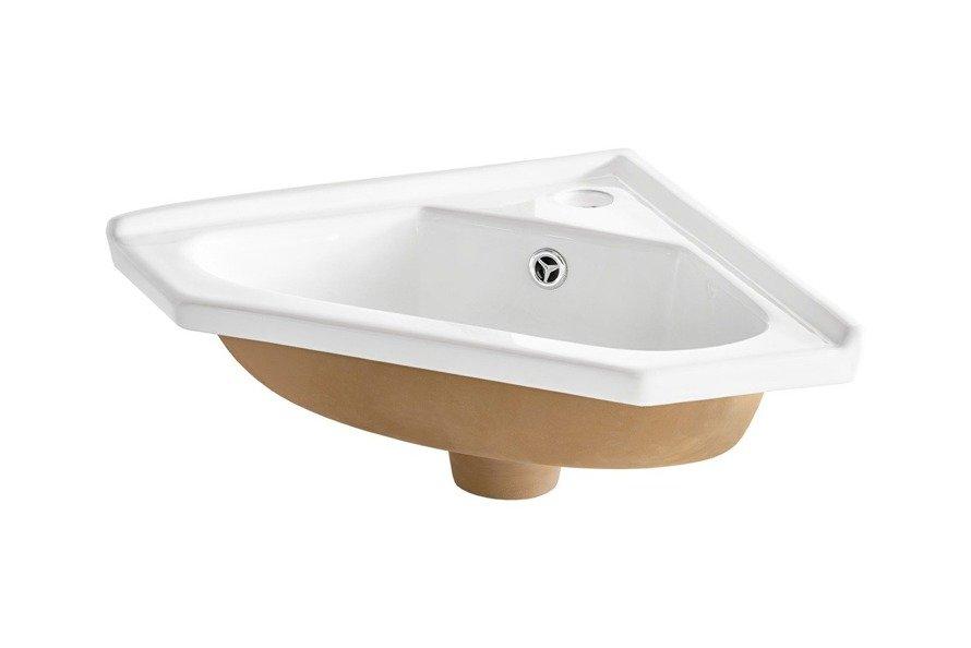 Umywalka ceramiczna narożna 40 cm,