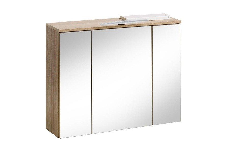 Zestaw mebli łazienkowych Remik Riviera 80 cm z szafką z lustrem